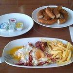 Breakfast at CAGRI ISKENDER