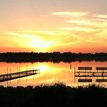 Sunset at Clear Lake