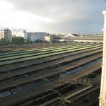 Morning view from room to station Gare de l'Est