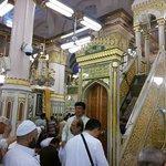 tangga mimbar masjid nabawi