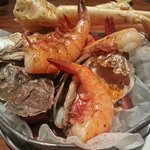A Bucket of Crab, Dirty Oysters, Shrimp and Other Stuff