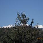 Vue des chambres coté Mt Canigou