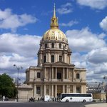 View of Invalides from the café