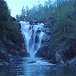 Big Rock Waterfall, can jump off it at the side