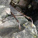 The ladder down
