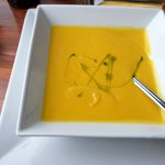 Carrot and sweet potaoes soup