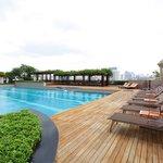 Salt Chlorinated Swimming Pool
