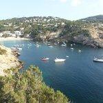 View to Cala Vadella