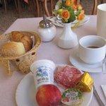 Just a start on breakfast