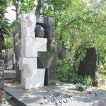 burial site of Nikita Sergeyevich Khrushchev
