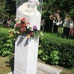 sculpture of Stalin's wife Alliluyeva Stalina
