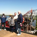 Guests with Airboat