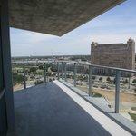 Balcony of Corner Suite #840 6-28-13