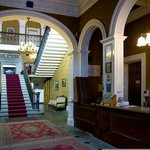Reception & Grand Staircase