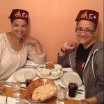 enjoying our mezzé!