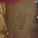 Dirty carpet in room