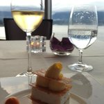 Dessert & wine with a view!
