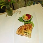 Lobster Quiche with Brie
