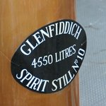 Glenfiddich still up close