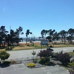 View of Crescent City Harbor from Room 323