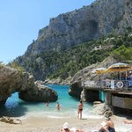 playa en Capri, Marina Piccola