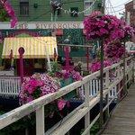 Footbridge to the Ice Cream Shoppe
