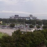SunLife Stadium view from my balcony