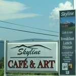 Skyline and Art Cafe.1