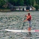Lake activities were great