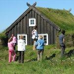 Slovenian tourists in Árbæjarsafn