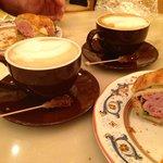 Breakfast Croissant & Coffee