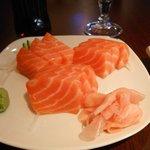Sashimi from the Jap restaurant