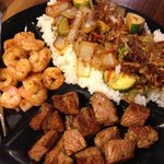 steak and shrimp hibachi. YUM!