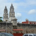 Campeche City Wall and Cathedral