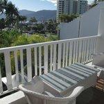 Nice Balcony in room 401