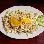 1/2 Chinese chicken salad