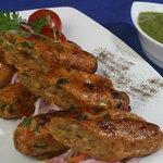 Veg.Seekh Kabab