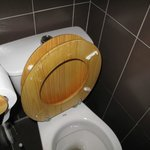 cuvette des toilettes cassée