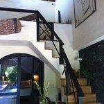 extra lounge area upstairs