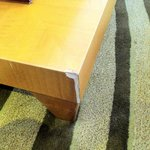 chipped furniture in suite #2118