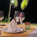 dinner at Natai restaurant