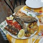 L'assiette de poissons