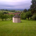 View from top of garden - rear of Summer House