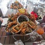 Commande spéciale, plateaux de fruits de mer