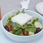 greek salad starter