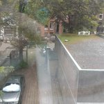 Room 117 overlooking tiny carpark