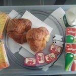 colazione in camera continentale