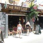 The RED LION.. Stalis Crete.