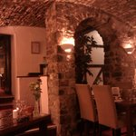 View of Cellars Restaurant from our table