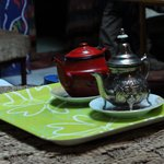 free Moroccan tea